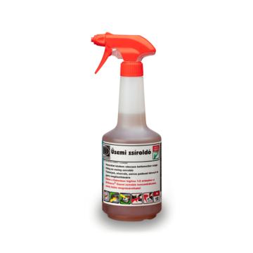 Üzemi zsíroldó (hígítós flakonban) 0,75 l