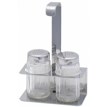Invertár só, bors szóróval, 10 x 6,5 cm