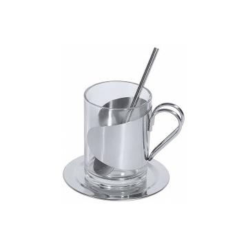 Forró ital pohár és kanál, 0,15 L
