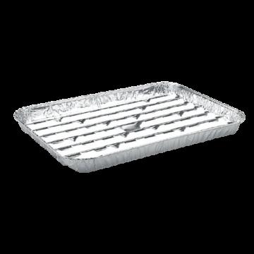 Alumínium grill tálca szögletes (34x22cm)