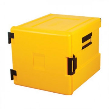 AVA Thermodoboz GN 2/1, 180 L, 600x2, sárga
