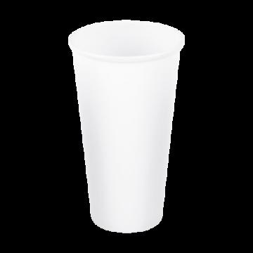 Papírpohár 500ml FEHÉR (90mm)