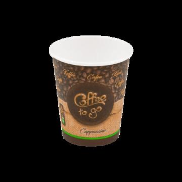 Papírpohár 200ml Coffe to go (80mm)