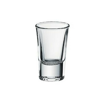 Junior shot-os, pálinkás pohár 35 cc, mérték jellel