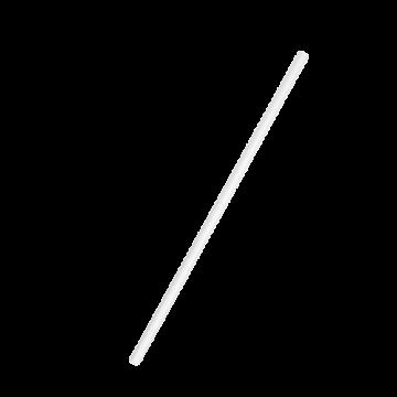 Papír szívószál 19.5 cm FEHÉR