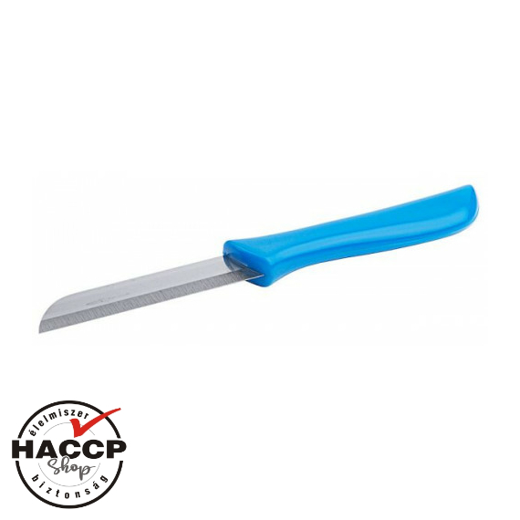 Hámozó kés kék nyéllel 7 cm