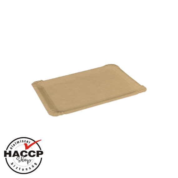 Papírtálca közepes (130x200mm) BARNA