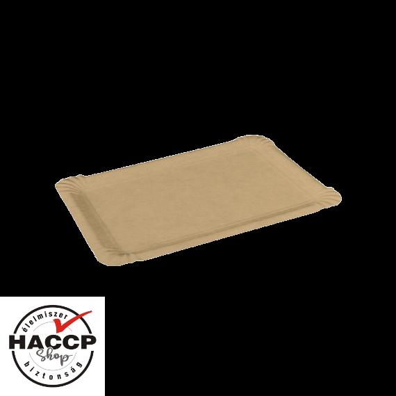 Papírtálca nagy (170x230mm) BARNA