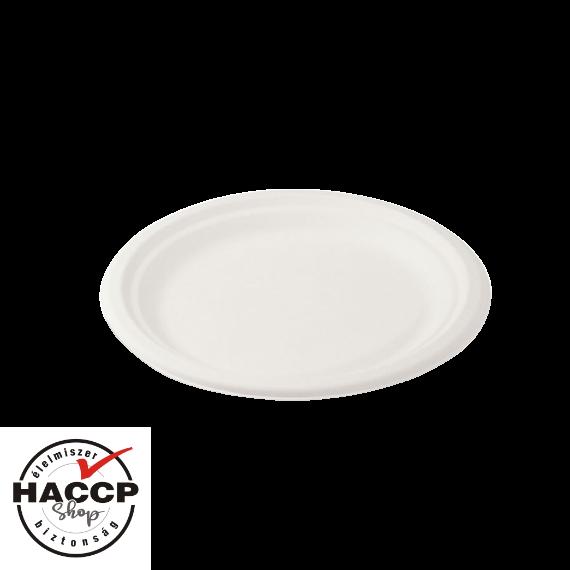 Komposztálható Cukornád tányér 220mm