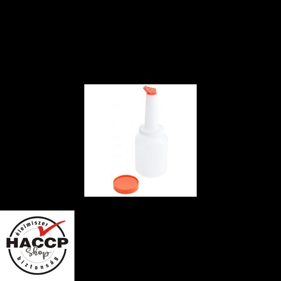 Speed Pourer Set, palack narancs sárga kiöntővel, 2 L