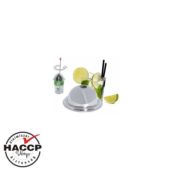 Caipirinha és Mojito koktélok készítéséhez pohár fedő