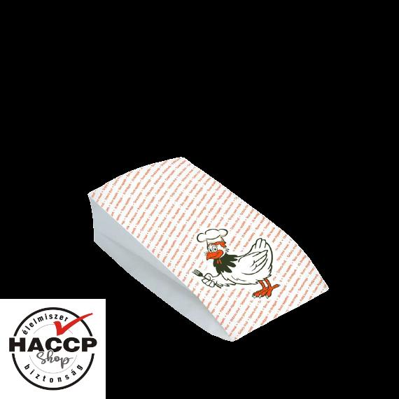 Papírzacskó csirkés közepes