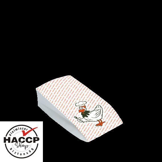 Papírzacskó csirkés kicsi