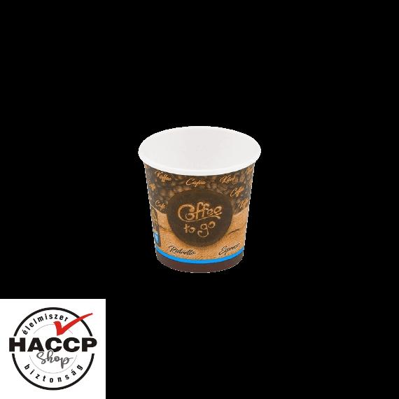 Papírpohár 100ml Coffee to go (63mm)