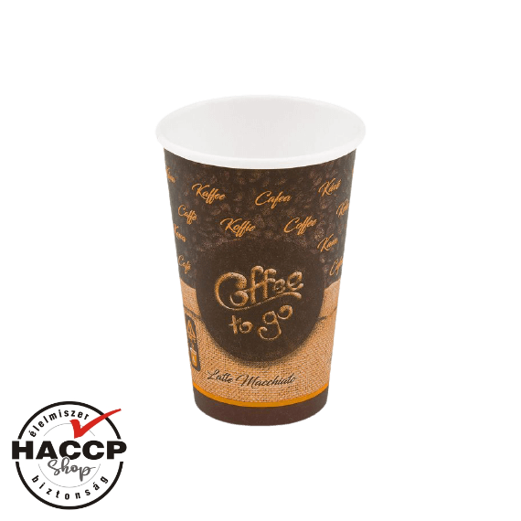 Papírpohár 300ml Coffee to go (80mm)