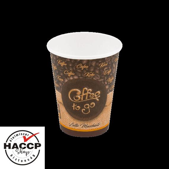 Papírpohár 350ml Coffee to go (90mm)