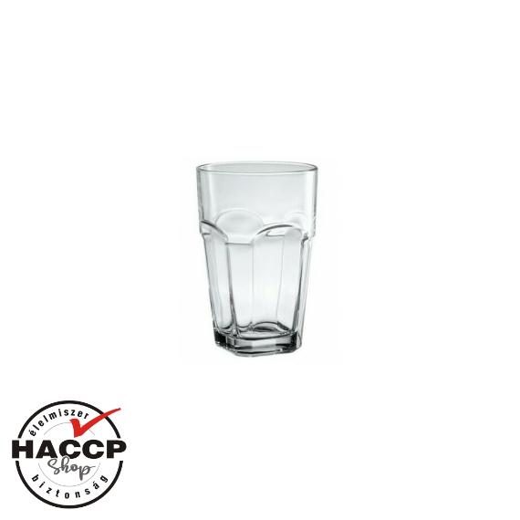 San Marco limonádés pohár, sorolható 600 cc