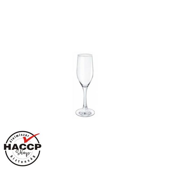 Gála pezsgős pohár 170 cc