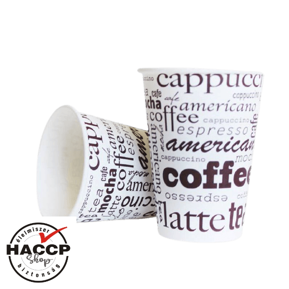 Papírpohár 200ml Coffee Line (80mm)