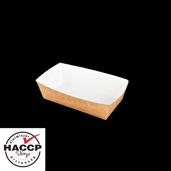 Street Food csónak papír 145x80x55mm