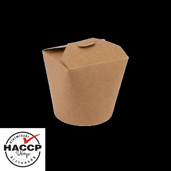 Tésztás papírdoboz 750ml KRAFT