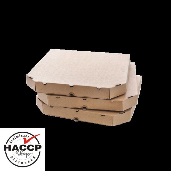 Pizzadoboz 26x26x3 cm BARNA