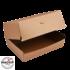 """Kép 1/2 - Papír hamburgeres doboz """"Plus"""" KRAFT 195x135x100mm"""