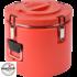 Kép 2/7 - Műanyagfalú ételszállító badella piros 15 L