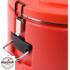 Kép 2/7 - Műanyagfalú ételszállító badella piros 30 L